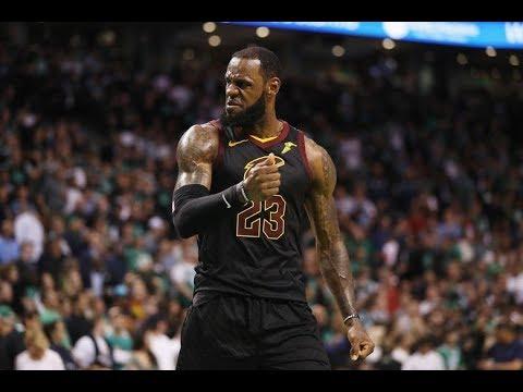 LeBron James   2017-18 Throwback Highlights ᴴᴰ