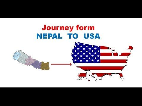 Nepal To Usa