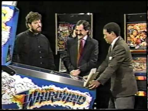 Pinball History: 1990 Today Show 1990 with Roger Sharpe