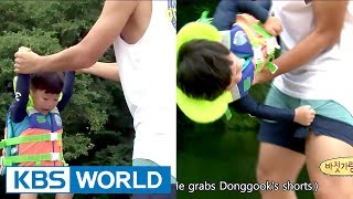 Goofy dad Donggook makes Daebak cry again [The Return of Superman / 2017.09.17]