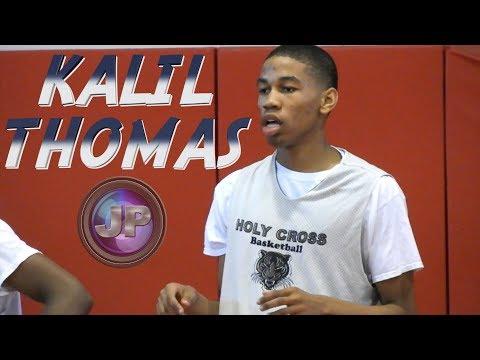 Kalil Thomas Highlights - Holy Cross/Texas PRO/Team Mitch 2019 G