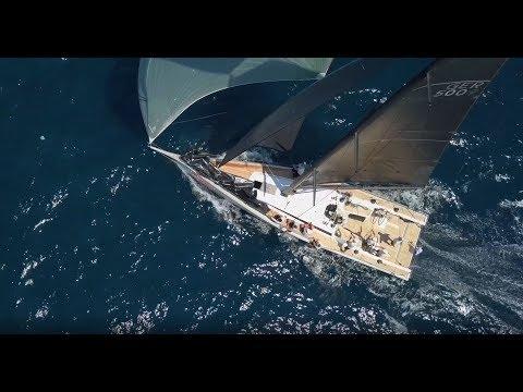 Elvstrom Sails potenciando al ClubSwan 50 OD