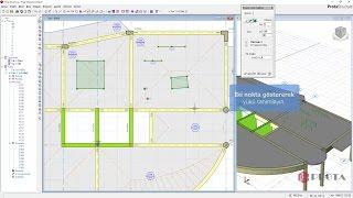 ProtaStructure ile Modelleme - Döşeme Yüklerinin Tanımlanması