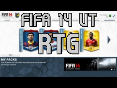 FIFA 14 Ultimate Team - Road To Glory - Episode 1 - Ahh The Web App