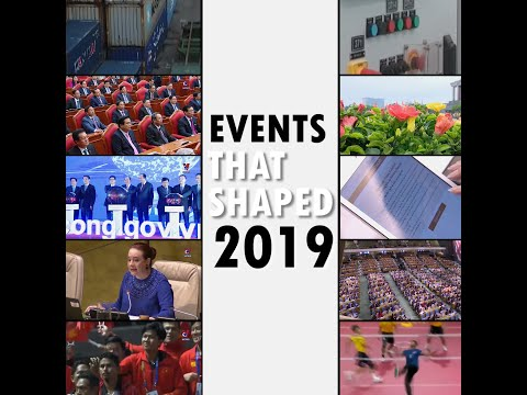 Events that shaped 2019 selected by Vietnam News Agency / Sự kiện nổi bật 2019 do TTXVN bình chọn