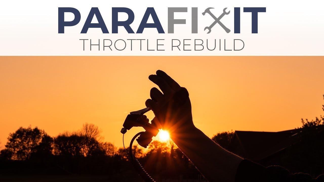 Rebuilding Old Paramotor Throttle