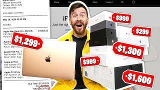 I Bought Everything On The Apple Website!! ($7,500 , Macbook and More!)