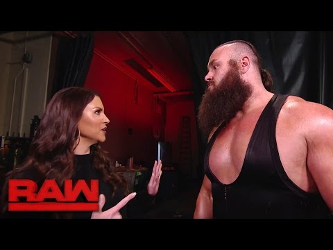Stephanie McMahon grants Braun Strowman's cruel demand: Raw, Dec. 26, 2016