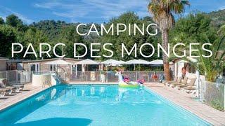 Bienvenue au Parc des Monges ! Un camping de charme avec piscine au cœur des Alpes Maritimes
