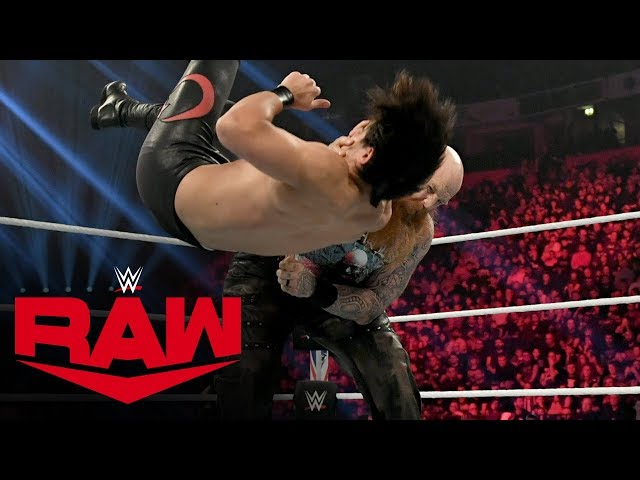 Erick Rowan vs. Soner Dursun: Raw, Nov. 11, 2019