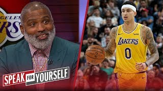 Kyle Kuzma is the key to Lakers' success next season - Cuttino Mobley | NBA | SPEAK FOR YOURSELF