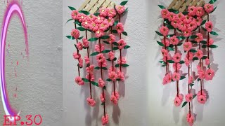 Cover images ดอกไม้จากไหมพรม |  DIY |  น้องน้ำ&แม่จา ♥️