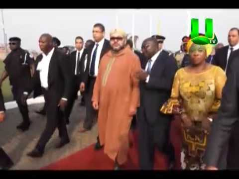 King of Morocco arrives in Ghana for bilateral talks