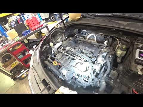 Автосервис в США Audi A3 2006g 2.0 Tsi порвало ремень грм