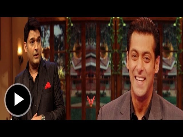 Salman Khan On Comedy nights with Kapil Travel Video