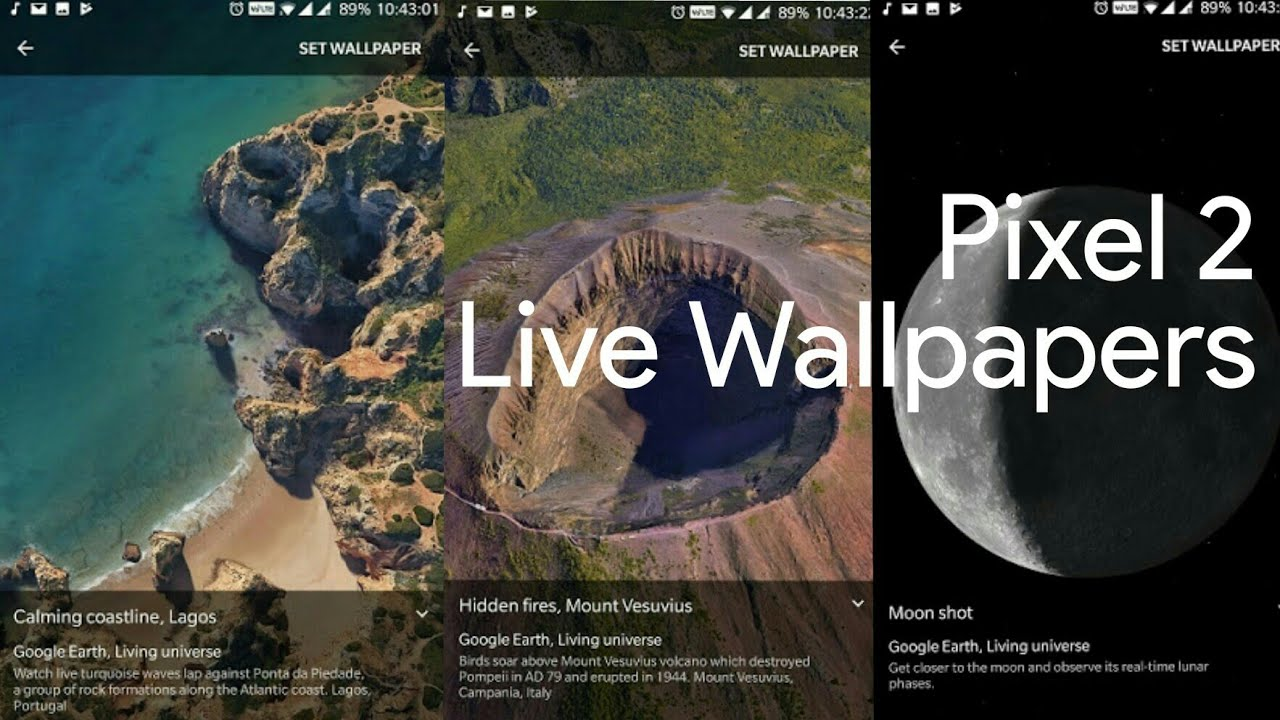 Download Pixel 2 Live Wallpapers For Any Android 6 and above