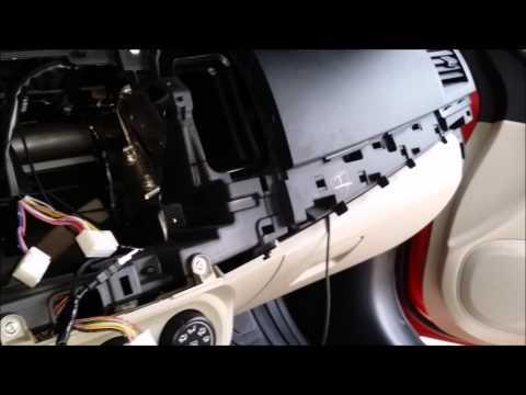 Mitsubishi Lancer EX Dashboard Removal And Usb