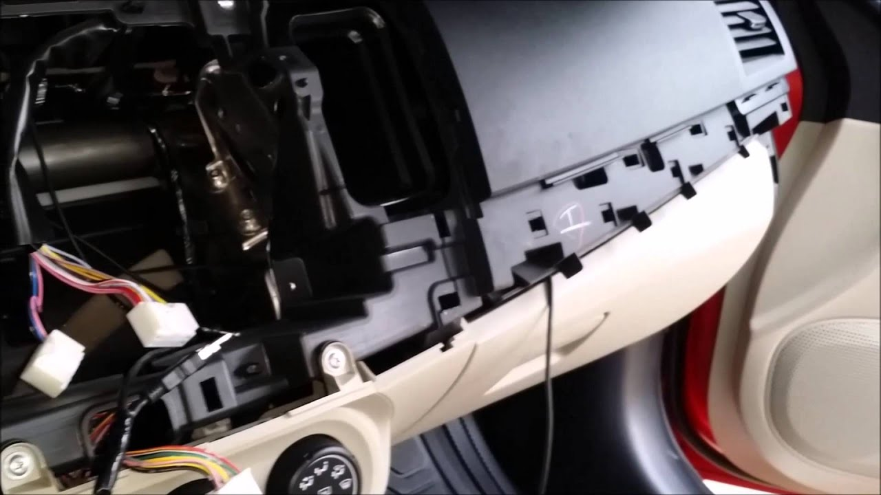 Mitsubishi Lancer Ex Dashboard Removal And Usb Youtube