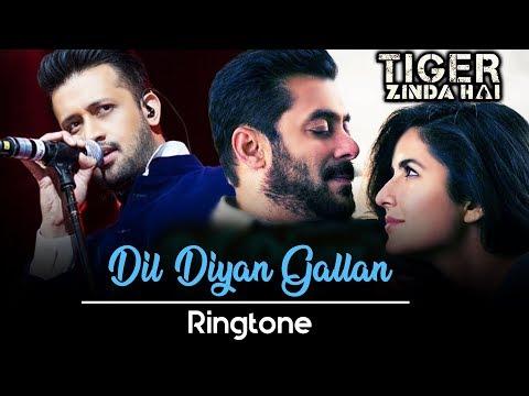 Dil Diyan Gallan Ringtone Download Mp3 | Instrumental Ringtone | Tiger Zinda Hai Movie Ringtone