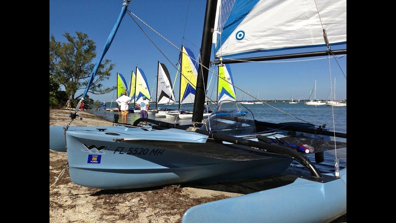 BartsGoPro - WindRider Owners Weekend - WOW Sarasota 2012 - Windrider 17  Trimaran Sailing - Buzzelli