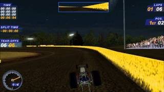 Dirt Track Racing 2 Mod Showcase - DRAGSTER MOD!!!!