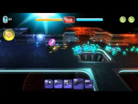 Alien Hallway - Walkthrough - Planet 2 - Mission 4 (Reinforcement time)  