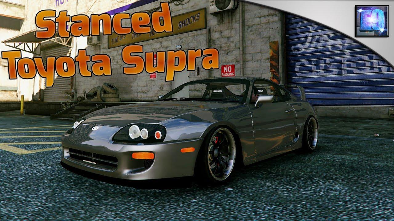Gta Pc Stanced Toyota Supra Car Mod Drift Handling Mod Youtube