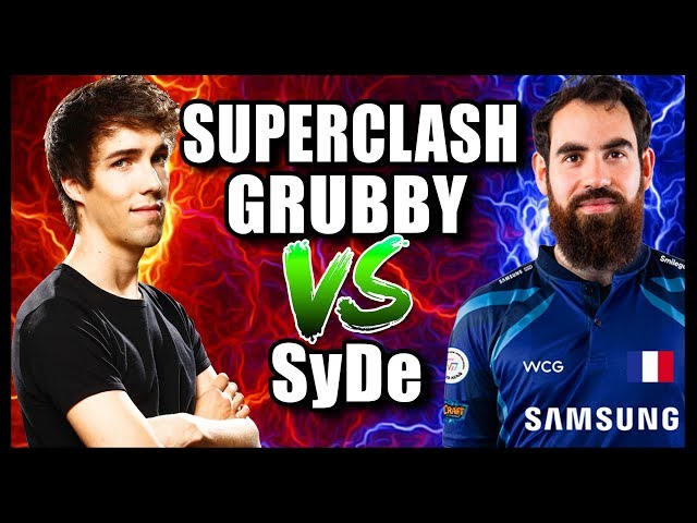 Grubby | WC3 Reforged | SUPERCLASH Grubby VS SyDe