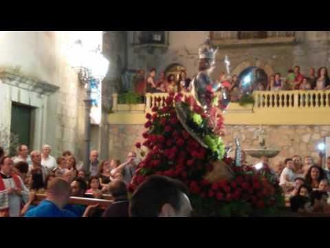 il ballo di San Vito a Condrò (ME) 10/07/16