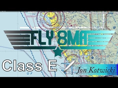 Ep. 36: Class E Airspace | Rules and Where it Is