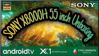 SONY 55X8000…