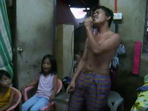 Phillipine boy singing karaoke Michael Jackson Thriller Live
