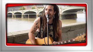 Wish You Were Here Cover - Pink Floyd Guitar Street Performer PETAR CIROVIC