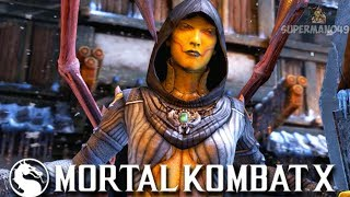 "D'VORAH  PREPARING FOR MORTAL KOMBAT 11! - Mortal Kombat X"" ""D'vorah"" Gameplay"