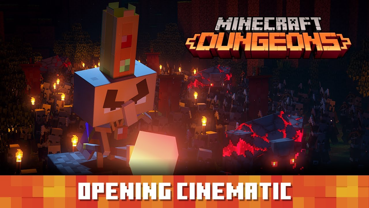Minecraft Dungeons Opening Cinematic Youtube