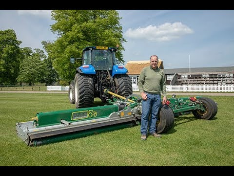 7.3m (24') Swift Rollermower at Cirencester Park Polo Club with Phil Cole