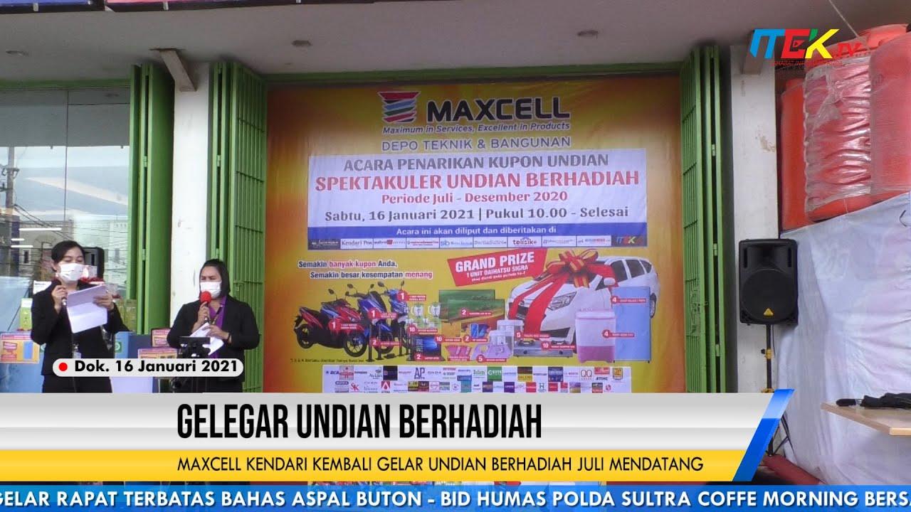 Maxcell Kendari Kembali Gelar Undian Berhadiah Juli Mendatang