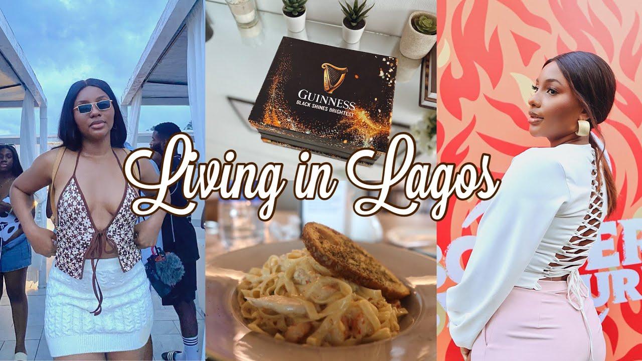 Download LIVING IN LAGOS | Jamaican restaurant in Lagos, PR Unboxing, Orijin launch party & more! #MCVlogs21