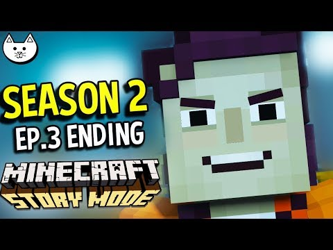 Minecraft Story Mode Season 2 - FREAKY ENDING - (Minecraft Story Mode Season 2 Episode 3 Ending)