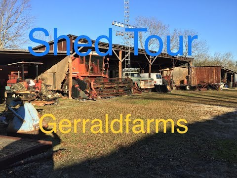 Equipment Tour Old International Tractors & More Gerraldfarms