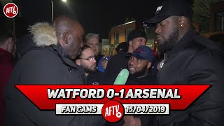 Watford 0-1 Arsenal | We Played Like We Had 10 Men! Mkhitaryan Was Awful! (Da Mobb)