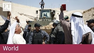 Israeli-Palestinian conflict focuses on condemned Bedouin village