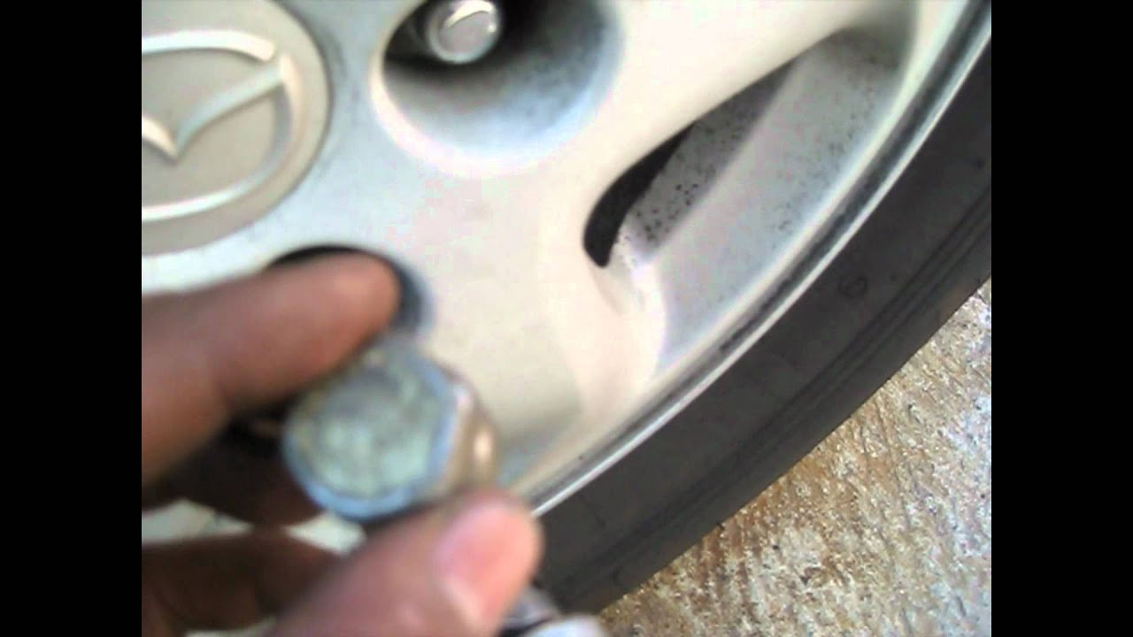 Wheel Lock Lug Nut Removal Without Key Youtube