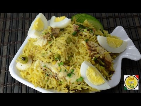 Fish Kedgeree Recipe - By VahChef @ VahRehVah.com
