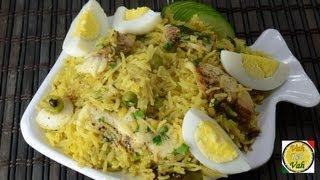 Fish Kedgeree Recipe - By Vahchef @ Vahrehvah.com