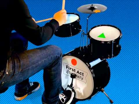Drum Lesson 1: Marching Beat - First Act Discovery Notes To Grow On ...