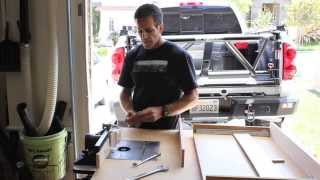 Cabinet Drawer:slide Out Shelf Build