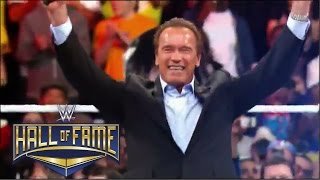 Arnold Schwarzenegger announced for WWE Hall of Fame Class of 2015