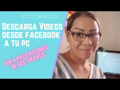 Como bajar Videos de Facebook Transmisiones en Vivo sin aplicaciones