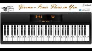 Yiruma - River Flows in You [Virtual Piano]